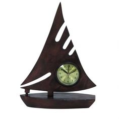 Upgrade his office or den this Fathers Day with this sophisticated and modern clock. A rich brown finish creates a handsome display for the golden face of this timepiece. 15H, rich brown finish