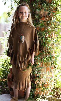 indian american costume...(i like the top with a different bottom for an indian)