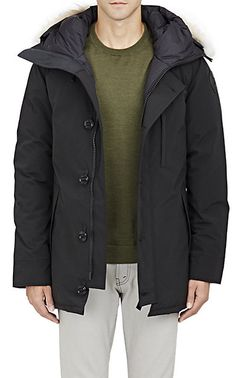 Canada Goose' Borden Fur-Trimmed Puffer Jacket