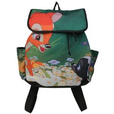5aef309852 Disney Bambi Meets Flower Slouch Backpack