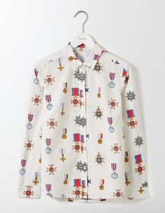 The Classic Shirt (Ivory Medals)