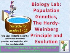 ap biology lab report population genetics and microbiology The advanced placement® biology laboratory manual recommends that each student group determine do of water samples of all the test conditions however.