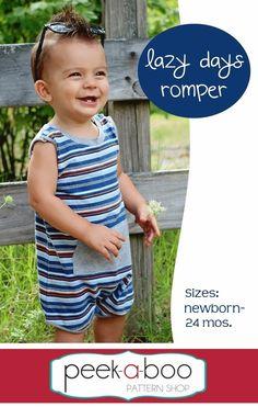 Lazy Days Romper PDF Sewing Pattern