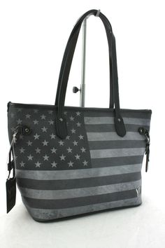 Borsa Donna Y NOT ? Shopping Art.C-336 Blak Media New Collection 2014 Stampa USA