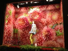 2013 spring. display,design,show window,flowers.