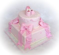 girl  baby shower ideas | ... little girls are!!! And that's what a baby girl shower cake should be