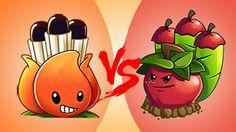 Plants vs Zombies 2 Vs: A.K.E.E vs Apple Mortar