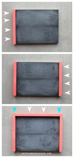 How to make wood frames! Step by Step! - A girl and a glue gun Best Picture For Frame Crafts wedding For Your Taste You are looking for something, and it is going to tell you exactly what you are look Picture Frame Crafts, Wood Picture Frames, Picture On Wood, Pallet Frames, Wood Frames, Craft Frames, Mason Jar Crafts, Mason Jar Diy, Trending Crafts