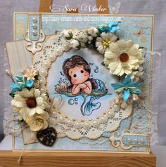 Magnolia challenge at The Ribbon Girl - daisy dreams