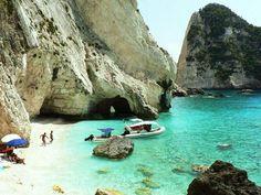 Marathonisi Islet in Zakynthos GREECE