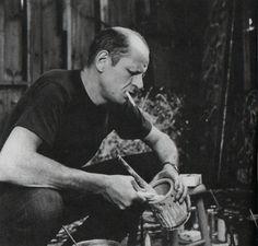 Rudy Burckhardt - Jackson Pollock Mixing Paint, 1950 gelatin silver print dim. unkn.