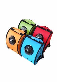 mochila u-pet para mascotas con ventana gatos perros mod 2