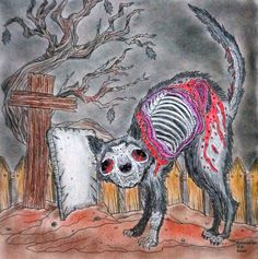 Alan Robert - The Beauty of Horror vol. 1 Kitty Coloured with Marco Raffine
