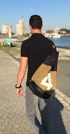 Men's crossbody sportsbag