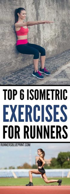 Isometric Exercises For Runners Here is the exact isometric training routine you need to improve you running and prevent injury. Hold each move for one to two minutes, before you move into the next exercise. After you are done with the circuit, http://www.runnersblueprint.com/isometric-exercises-runners/ #isometric #exercise