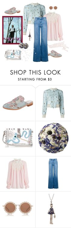 """""""Back to work"""" by juliabachmann ❤ liked on Polyvore featuring Jeffrey Campbell, Valentino, Dolce&Gabbana, Giambattista Valli, IDA, House of Holland and Servane Gaxotte"""