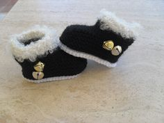 Jingle All The Way Baby Santa Booties Now Available In My Etsy Shop MarilynsCreation