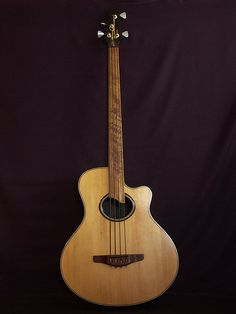 Unknown Custom Acoustic Bass Guitar