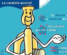 La Carabela musical un conjunto de juegos para aprender música destinado a primer ciclo de educación primaria.