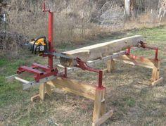 Chainsaw sawmill