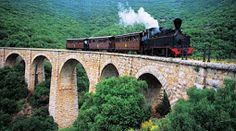 Pelion railway was a narrow gauge mm ft 11 in)) railway line of Thessaly Railways in Greece, connecting the city of Volos with the town of Mileai on Pelion. Ancient Greek Theatre, Stone Road, Destinations, Greece Holiday, Europe, Ancient Ruins, Medieval Castle, Thessaloniki, Santorini Greece