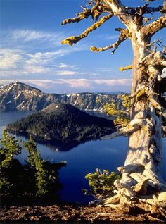 Crater Lake, only one of the amazing natural wonders of Oregon