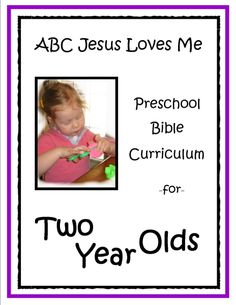 2 Year-5 Year Curriculum; will have to order the curriculum and workbook instead of printing each page