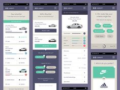 CarSift Ui by Oli Lisher