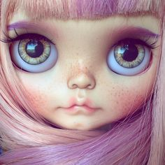 Hi! Blythe Doll by Tiina  #blythedoll #tiinacustom #customblythe