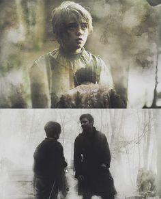 Arya + Gendry