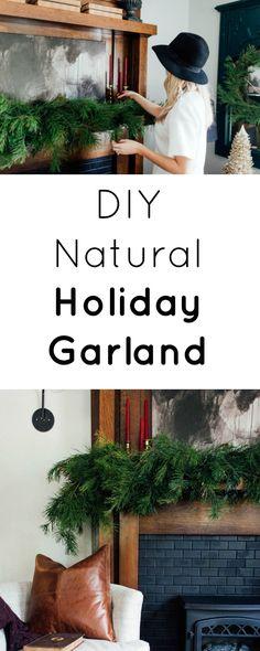 DIY Holiday Garland
