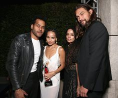 Jason Momoa's Hands-Down Cutest Moments With His Stepdaughter, Zoë Kravitz
