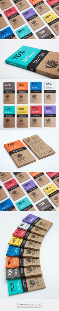 Mason & Co Chocolate Bars - The Dark Chocolate Collection         on          Packaging of the World - Creative Package Design Gallery   http://www.packagingoftheworld.com/2014/12/mason-co-chocolate-bars-dark-chocolate.html - created via http://pinthemall.net
