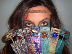 Magical Dragon Eye Bookmarks
