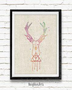 O este artísticamente rústico diseño de Patronus. | 23 Formas sutiles de cubrir tu casa con Harry Potter