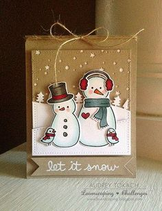 Let it snow on the Lawnscaping Challenges blog today!