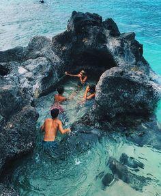 Blue ocean beach travel destinations with friends Places To Travel, Travel Destinations, Places To Visit, Winter Destinations, Summer Vibes, Summer Beach, Summer Dream, Summer Sun, Summer Goals