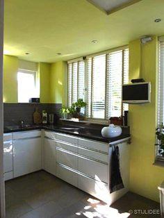 Binnenkijken in … een groene keuken in Odijk bij Utrecht via www.stijlidee.nl