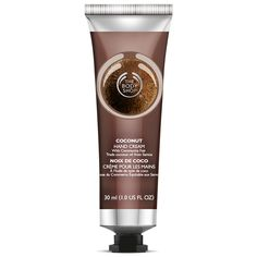 This tropical Coconut daily hand cream helps soften and protect hands with light, nutty moisture. The instantly absorbing formula is ideal for on-the-go hydration.