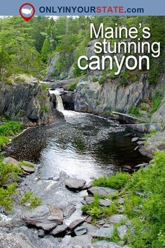 Travel | Maine | Attractions | New England | USA | Places To Visit | Day Trips | Grand Canyon | Outdoor | Adventure | Things To Do | Hidden Gems | Gulf Hagas | Grand Canyon of Maine | Waterfalls | Nature | State Parks | Hiking | Trails | Scenic Hikes | Wilderness #newenglandtravel