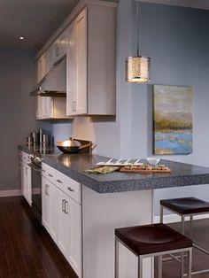 1- Light Mini Pendant above island in kitchen - by @feissmontecarlo on Houzz