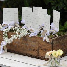 #Tableau #matrimonio: fai da te in stile shabby chic