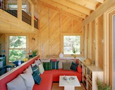 Tiny Off-Grid Cabin in Maine is Completely Self-Sustaining
