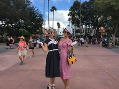 PHOTOS: Vintage loving gents and ladies invades Walt Disney World for Dapper Day 2015