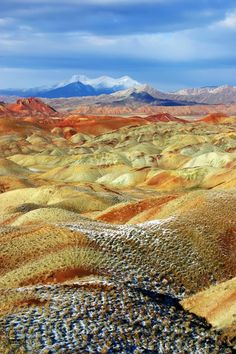 Tabriz is in my itinerary. //Iran, Tabriz, Colorful Mountains Colorful Mountains by Ali Shokri on Places To Travel, Places To See, Beautiful World, Beautiful Places, Formations Rocheuses, Places Around The World, Around The Worlds, Colorful Mountains, Iran Travel