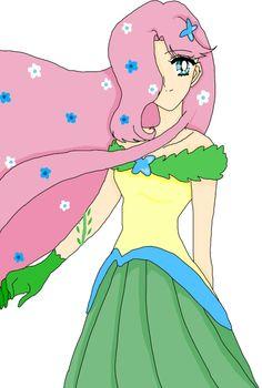 Fluttershy-Gala by SailorLunarAngel.deviantart.com on @deviantART