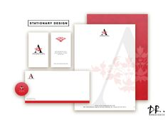 Stationary branding   Business stationery   Branding   Business card design   Letterhead and envelope design   stationary set by DesignRescue on Etsy https://www.etsy.com/listing/490755524/stationary-branding-business-stationery