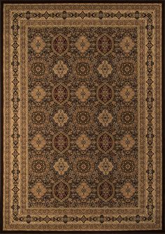 Royal is an elegant collection of traditional designs in a power-loomed construction of soft polypropylene. Old world motifs adorn these densely plush pieces that will add a rich touch to any decor. Traditional Area Rugs, Traditional Design, Synthetic Rugs, Tabriz Rug, Patterned Carpet, Brown Rug, Indoor Outdoor Rugs, Accent Rugs, Natural Rug