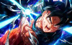 Descargar fondos de pantalla DBS, Negro Goku, luchador, manga, Goku, magia, arte, Dragon Ball Super