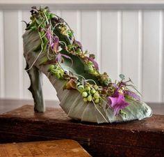 Jamie Bosworth - flower shoes
